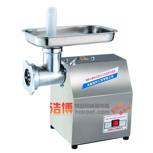 绞肉机头及接触食品的零部件都采用高级不锈钢