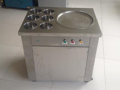 炒冰机的操作使用方法